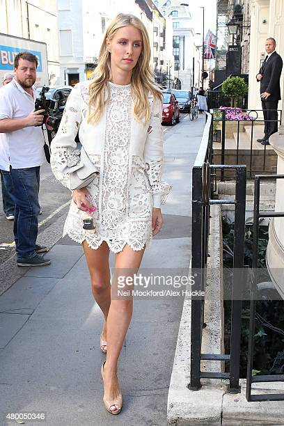 Nicky Hilton seen shopping on Dover Street on July 9 2015 in London England