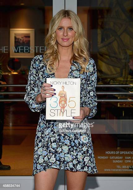 Nicky Hilton signs copies of her book '365 Style' at The Webster on November 6 2014 in Miami Florida