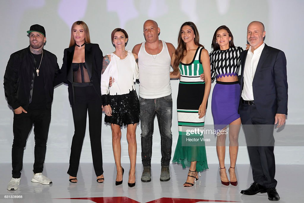 xXx: Return of Xander Cage - Mexico Photocall & Press Conference : News Photo