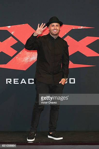 Nicky Jam attends the Mexico City Premiere of the Paramount Pictures 'xXx Return of Xander Cage' at Auditorio Nacional on January 5 2017 in Mexico...