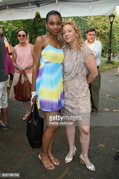 Nicky Johnson and Nora Lanning attend CITY PARKS FOUNDATION'S Annual SUMMER STAGE GALA Featuring CROSBY STILLS AND NASH at Summer Stage on July 29...