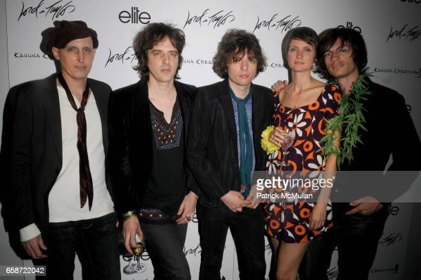 Nicky Kulund David Kulund Lizzy LeeVincent Michel Walkley and PT Walkley attend LORD TAYLOR ELITE MODEL MANAGEMENT and KAHUNA LONGBOARDS Launch the...