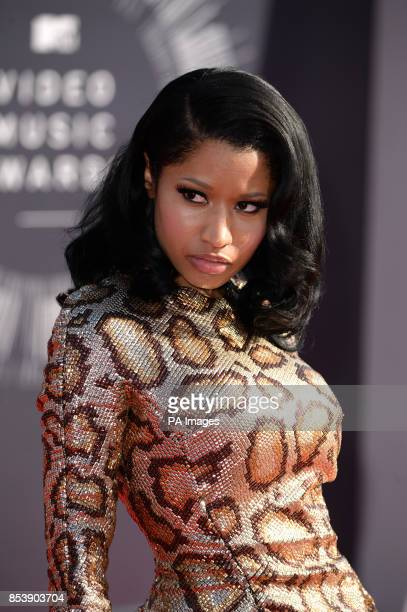 Nicky Minaj arriving at the MTV Video Music Awards 2014 at The Forum in Inglewood Los Angeles