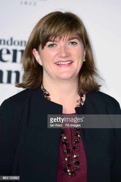 Nicky Morgan at the London Evening Standard's annual Progress 1000 in partnership with Citi and sponsored by Invisalign UK held in London PRESS...