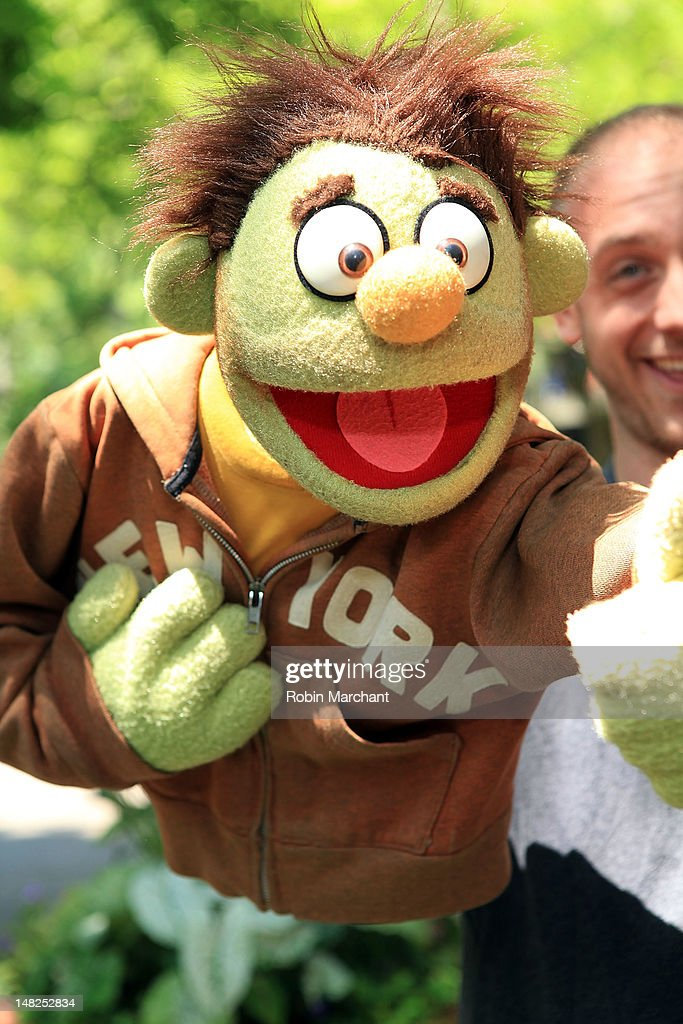 Nicky of Avenue Q visits at Bronx Zoo on July 12, 2012 in New York City.