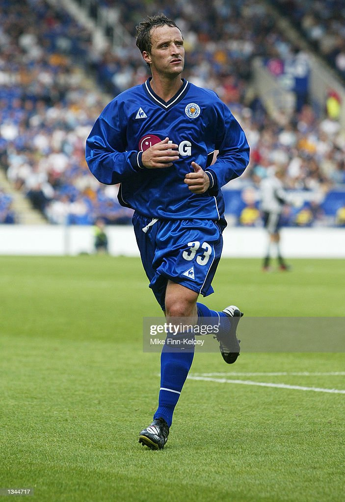 Nicky Summerbee of Leicester City during the Nationwide League Division One match between Leicester City and Watford at the Walkers Stadium in Leicester, England on August 10, 2002. Leicester won 2-0.