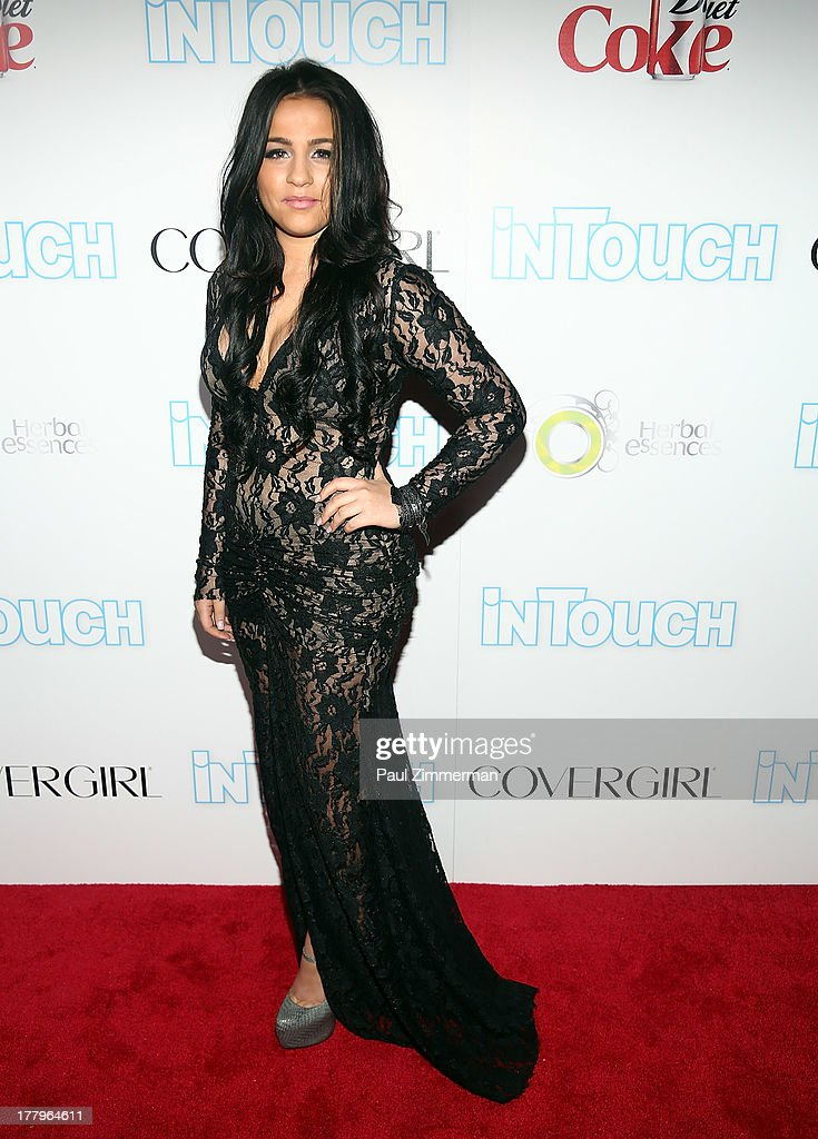 Nicky Valentine attends In Touch Weekly's 2013 Icons & Idols event at FINALE Nightclub on August 25, 2013 in New York City.