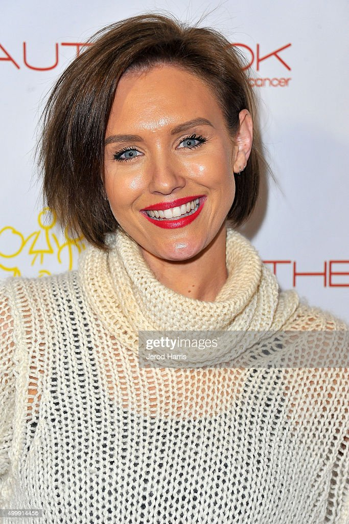 Nicky Whelan arrives at 'The Beauty Book For Brain Cancer' edition 2 launch party at Le Jardin on December 3, 2015 in Hollywood, California.