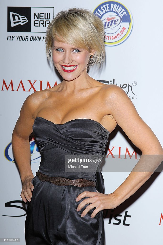 Nicky whelan arrives at the maxim hot 100 party held at eden on may 11