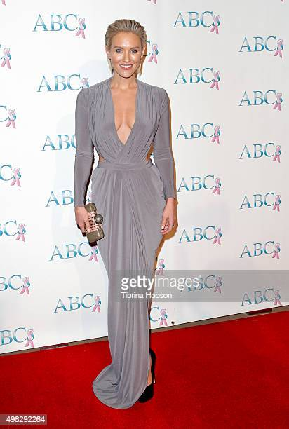 Nicky Whelan attends the 2015 Talk Of The Town Gala at The Beverly Hilton Hotel on November 21 2015 in Beverly Hills California
