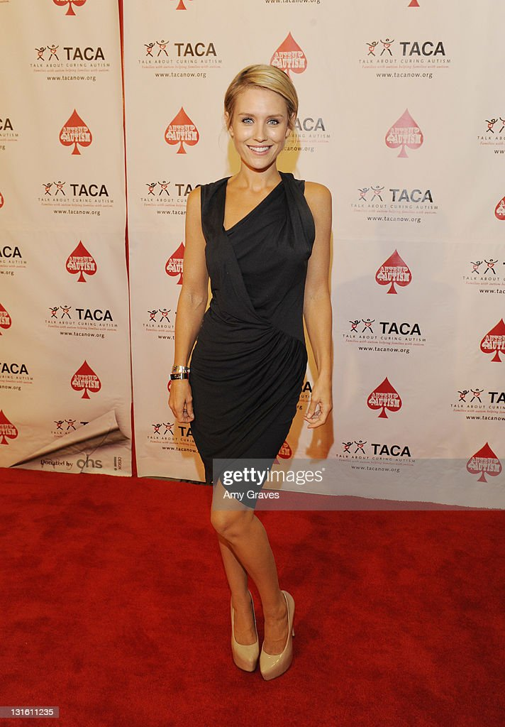 Nicky Whelan attends the Ante-Up for Autism Event at St. Regis Monarch Beach Resort on November 5, 2011 in Dana Point, California.