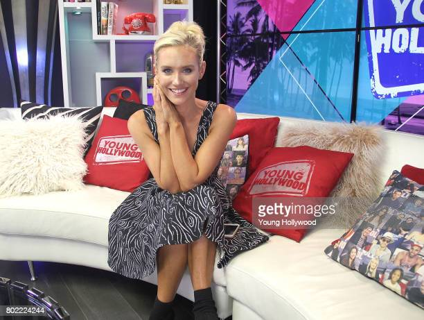 Nicky Whelan visits the Young Hollywood Studio on June 27 2017 in Los Angeles California
