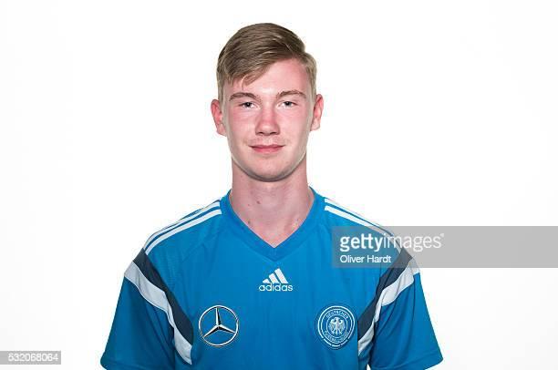 Niclas Knoop of Germany poses during U15 Germany Team Presentation on May 17 2016 in Leer Germany