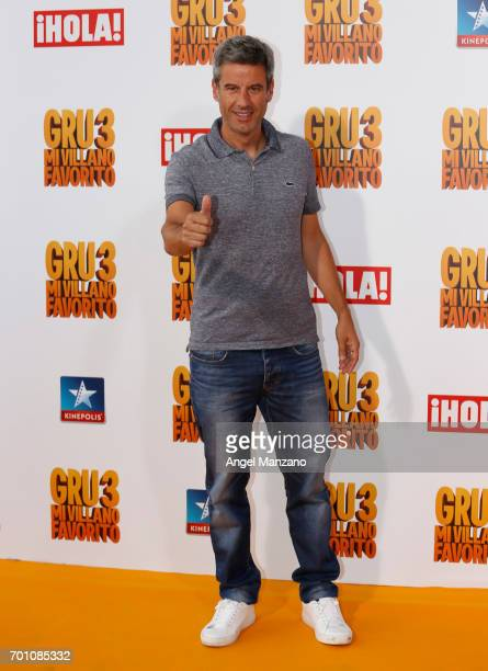 Nico Abad attends the 'Despicable Me 3' premiere at Kinepolis cinema on June 22 2017 in Madrid SPAIN