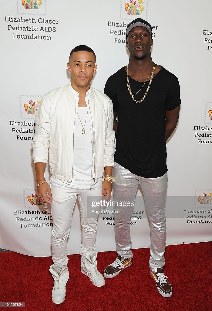 Nico and Vinz attend the Elizabeth Glaser Pediatric AIDS Foundation's 26th Annual A Time For Heroes Family Festival at Smashbox Studios on October 25...