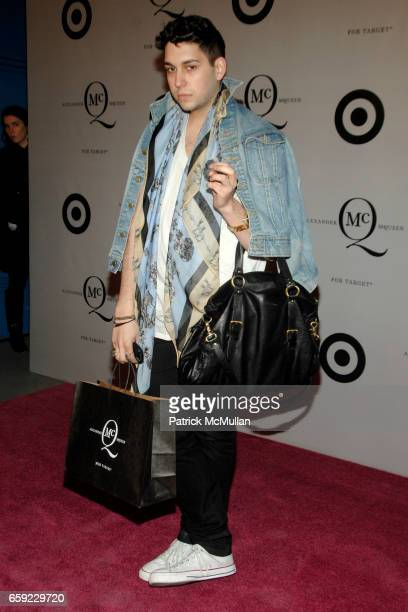 Nico attends McQ Alexander McQueen for Target Debuts TARGET McQ MARKET in NYC at St John's Center on February 13 2009 in New York City