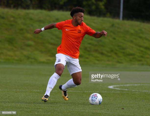 Nico Cotton of Southend United during Central League Cup match between Barnet Under 23s and Southend United Under 23s at Barnet Training Ground...