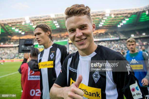 Nico Elvedi of Borussia Moenchengladbach after the Bundesliga match between Borussia Moenchengladbach and 1 FC Koeln at BorussiaPark on August 20...