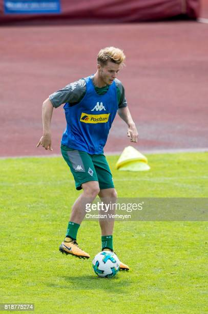 Nico Elvedi of Borussia Moenchengladbach during a training session at the Training Camp of Borussia Moenchengladbach on July 19 2017 in RottachEgern...