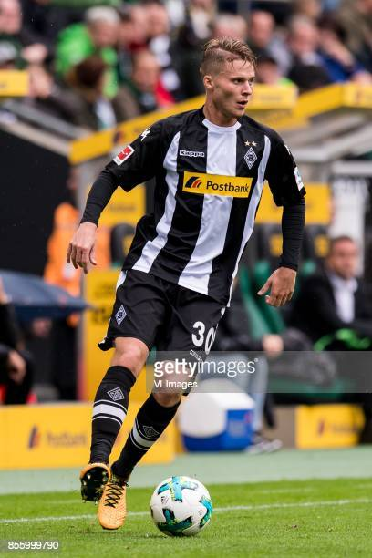 Nico Elvedi of Borussia Monchengladbach during the Bundesliga match between Borussia Monchengladbach and Hannover 96 at BorussiaPark on September 30...