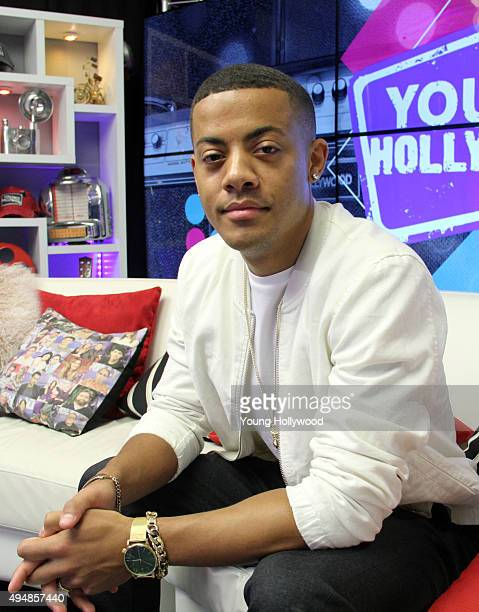 Nico from Nico Vinz visits the Young Hollywood Studio on October 29 2015 in Los Angeles California