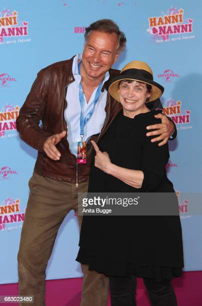 Nico Hofmann and Katharina Thalbach attend the premiere of the film 'Hanni Nanni Mehr als beste Freunde' at Kino in der Kulturbrauerei on May 14 2017...