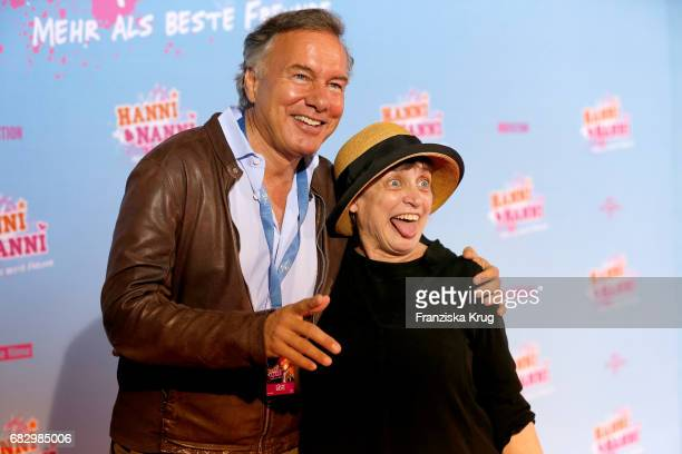 Nico Hofmann and Katharina Thalbach during the premiere of the film 'Hanni Nanni Mehr als beste Freunde' at Kino in der Kulturbrauerei on May 14 2017...
