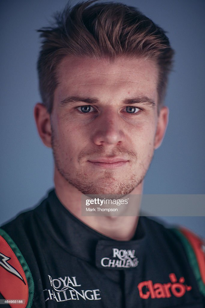 Nico Hulkenberg of Germany and Force India poses for a portrait during day three of Formula One Winter Testing at Circuit de Catalunya on February 21, 2015 in Montmelo, Spain.