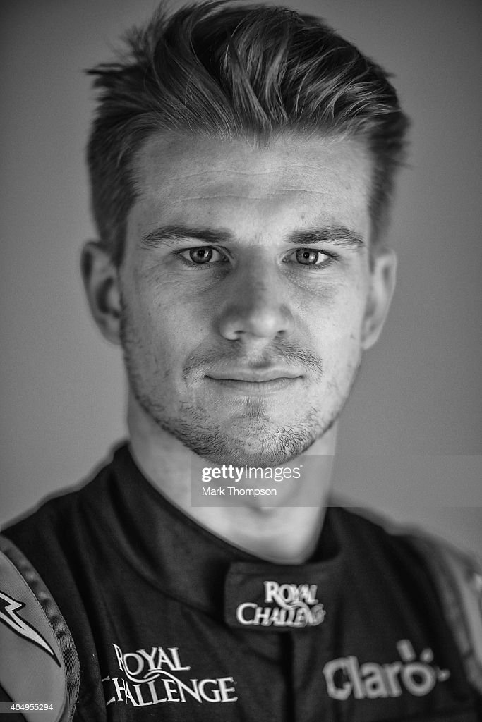 <a gi-track='captionPersonalityLinkClicked' href=/galleries/search?phrase=Nico+Hulkenberg&family=editorial&specificpeople=2566799 ng-click='$event.stopPropagation()'>Nico Hulkenberg</a> of Germany and Force India poses for a portrait during day three of Formula One Winter Testing at Circuit de Catalunya on February 21, 2015 in Montmelo, Spain.