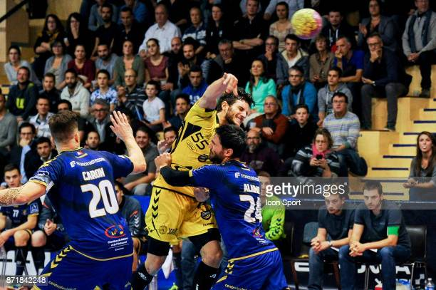 Nico Mindegia Elizaga of Chambery during the Lidl Starligue match between Massy and Chambery on November 8 2017 in Massy France
