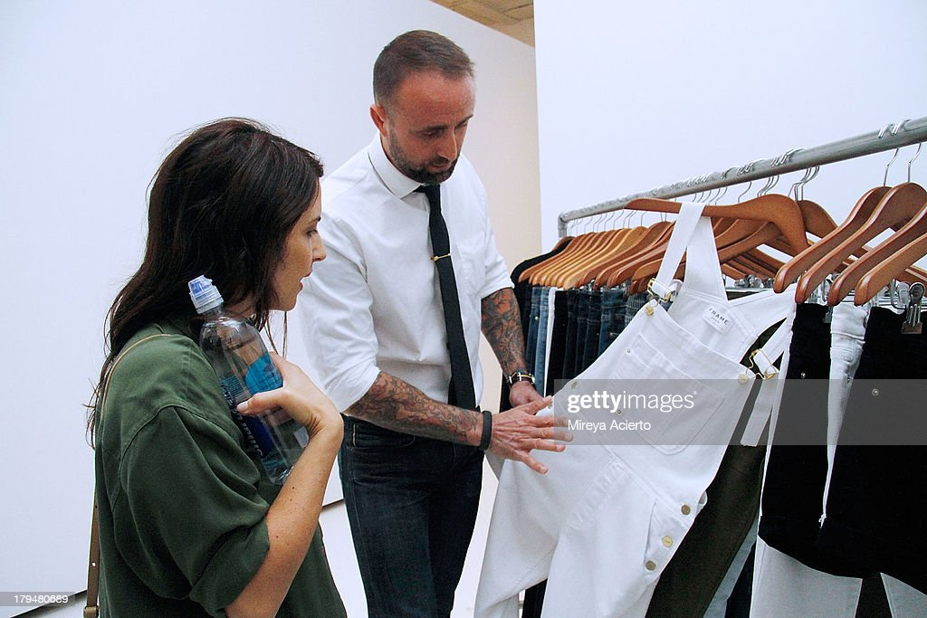Nico Peyrache and guest attend the Frame Denim presentation during Mercedes-Benz Fashion Week Spring 2014 at Openhouse Gallery on September 4, 2013 in New York City.