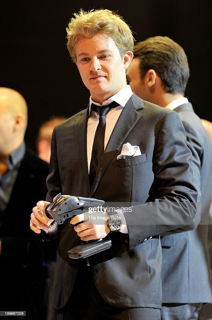<a gi-track='captionPersonalityLinkClicked' href=/galleries/search?phrase=Nico+Rosberg&family=editorial&specificpeople=800808 ng-click='$event.stopPropagation()'>Nico Rosberg</a> attends the IWC Schaffhausen Race Night event during the Salon International de la Haute Horlogerie (SIHH) 2013 at Palexpo on January 22, 2013 in Geneva, Switzerland.