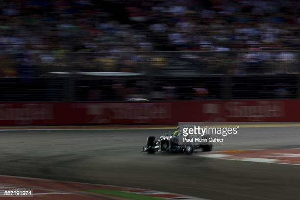 Nico Rosberg Mercedes F1 W04 Grand Prix of Singapore Marina Bay Street Circuit 22 September 2013