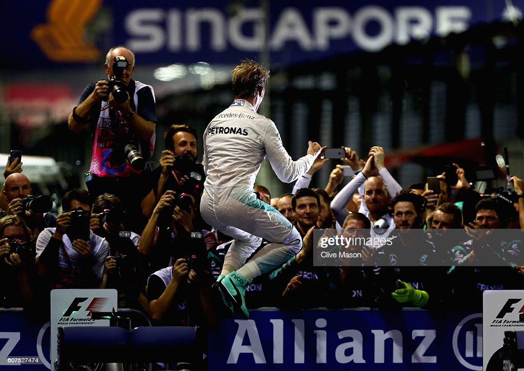 F1 Grand Prix of Singapore : News Photo