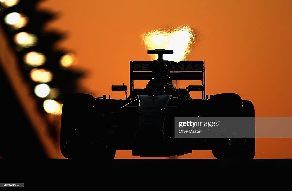 <a gi-track='captionPersonalityLinkClicked' href=/galleries/search?phrase=Nico+Rosberg&family=editorial&specificpeople=800808 ng-click='$event.stopPropagation()'>Nico Rosberg</a> of Germany and Mercedes GP during qualifying for the Abu Dhabi Formula One Grand Prix at Yas Marina Circuit on November 22, 2014 in Abu Dhabi, United Arab Emirates.