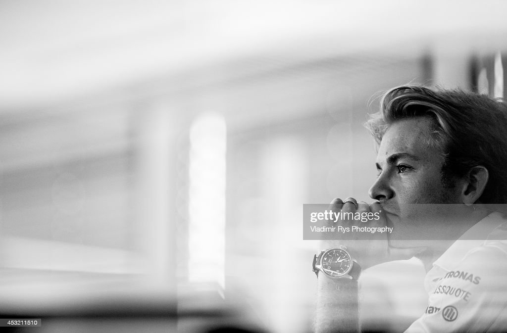 <a gi-track='captionPersonalityLinkClicked' href=/galleries/search?phrase=Nico+Rosberg&family=editorial&specificpeople=800808 ng-click='$event.stopPropagation()'>Nico Rosberg</a> of Germany and Mercedes GP Petronas attends a press conference during previews for the German Formula One Grand Prix at Hockenheimring on July 17, 2014 in Hockenheim, Germany.