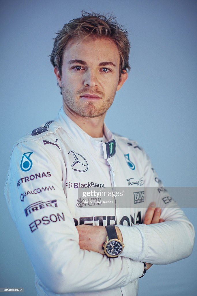 <a gi-track='captionPersonalityLinkClicked' href=/galleries/search?phrase=Nico+Rosberg&family=editorial&specificpeople=800808 ng-click='$event.stopPropagation()'>Nico Rosberg</a> of Germany and Mercedes GP poses for a portrait during day three of Formula One Winter Testing at Circuit de Catalunya on February 21, 2015 in Montmelo, Spain.