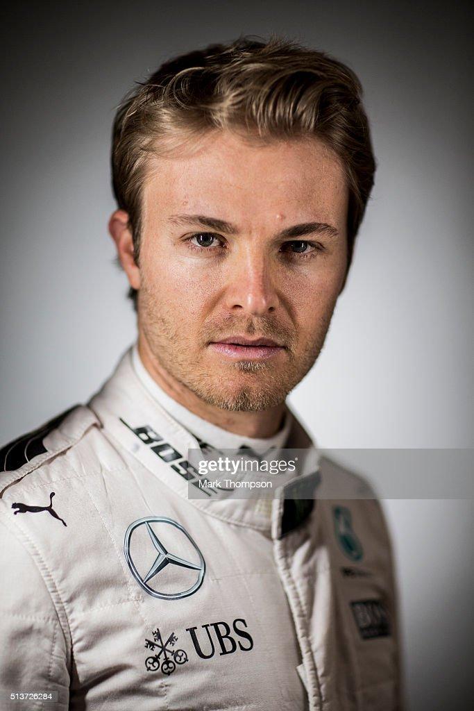 2016 Formula One Driver Portraits