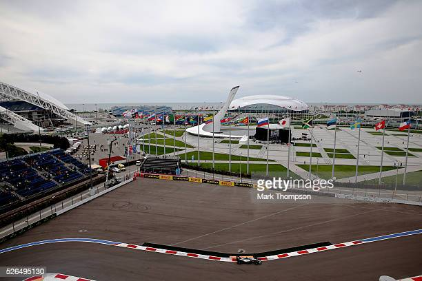 Nico Rosberg of Germany driving the Mercedes AMG Petronas F1 Team Mercedes F1 WO7 Mercedes PU106C Hybrid turbo on track during final practice ahead...