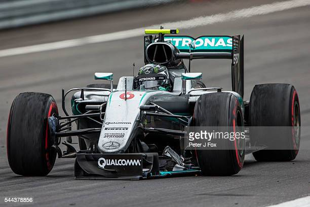 Nico Rosberg of Mercedes and Germany during the Formula One Grand Prix of Austria at Red Bull Ring on July 3 2016 in Spielberg Austria