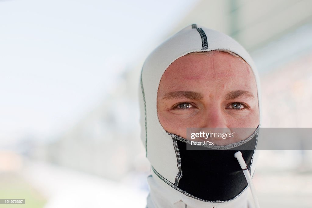 Nico Rosberg Of Mercedes & Germany during the Japanese Formula One Grand Prix at the Suzuka Circuit on October 7, 2012 in Suzuka, Japan.