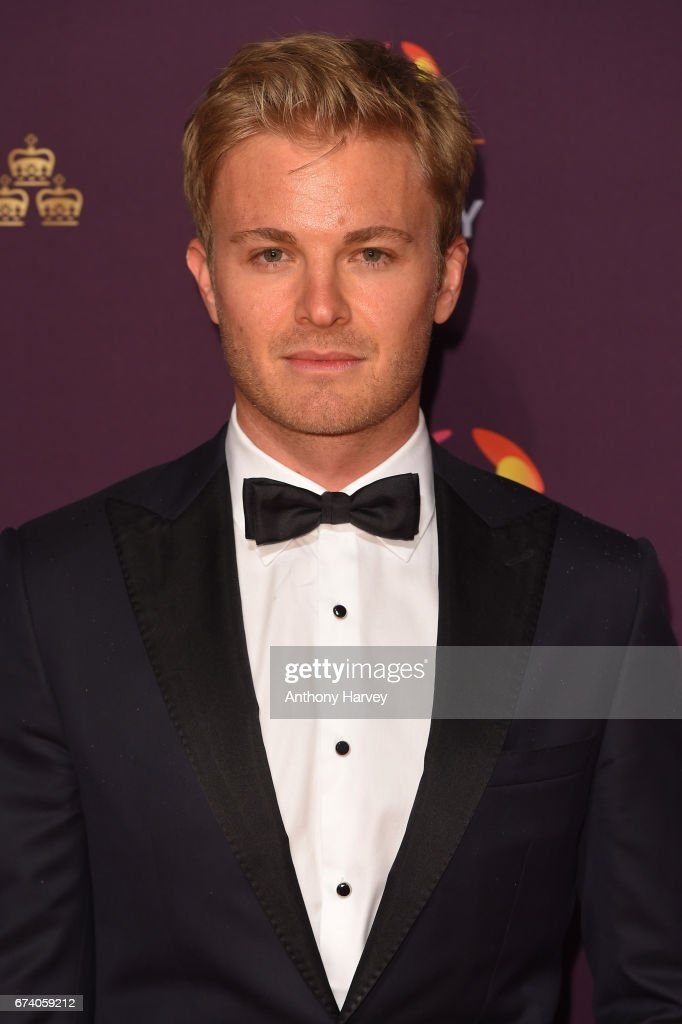 Nico Rosberg poses on the red carpet during the BT Sport Industry Awards 2017 at Battersea Evolution on April 27, 2017 in London, England. The BT Sport Industry Awards is the most prestigious commercial sports awards ceremony in Europe, where over 1,750 of the industry's key decision-makers mix with high profile sporting celebrities for the industry's most anticipated night of the sport business calendar.