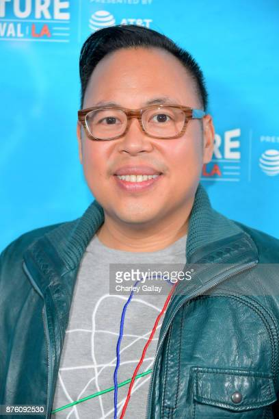 Nico Santos attends the ''Unreal vs Superstore Pop Culture Trivia Game Show' part of Vulture Festival LA Presented by ATT at Hollywood Roosevelt...