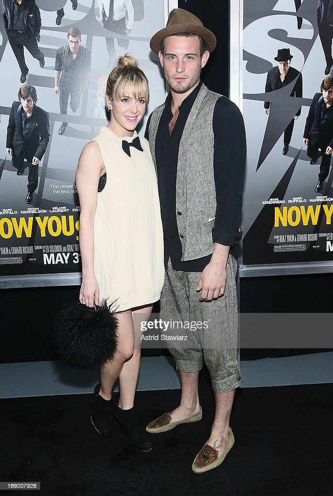 <a gi-track='captionPersonalityLinkClicked' href=/galleries/search?phrase=Nico+Tortorella&family=editorial&specificpeople=5864114 ng-click='$event.stopPropagation()'>Nico Tortorella</a> and guest attend the 'Now You See Me' New York Premiere at AMC Lincoln Square Theater on May 21, 2013 in New York City.