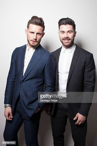 Nico Tortorella and Kyle Krieger attend the Logo New Now Next Honors From Aspen Gay Ski Week on January 23 2016 in Aspen Colorado