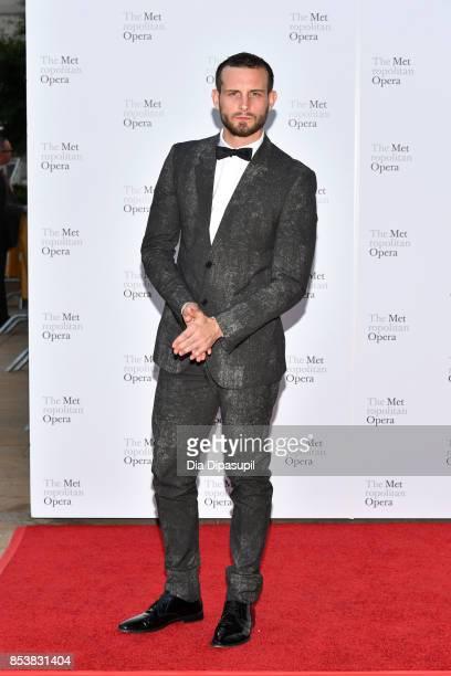 Nico Tortorella attends the 2017 Metropolitan Opera Opening Night at The Metropolitan Opera House on September 25 2017 in New York City