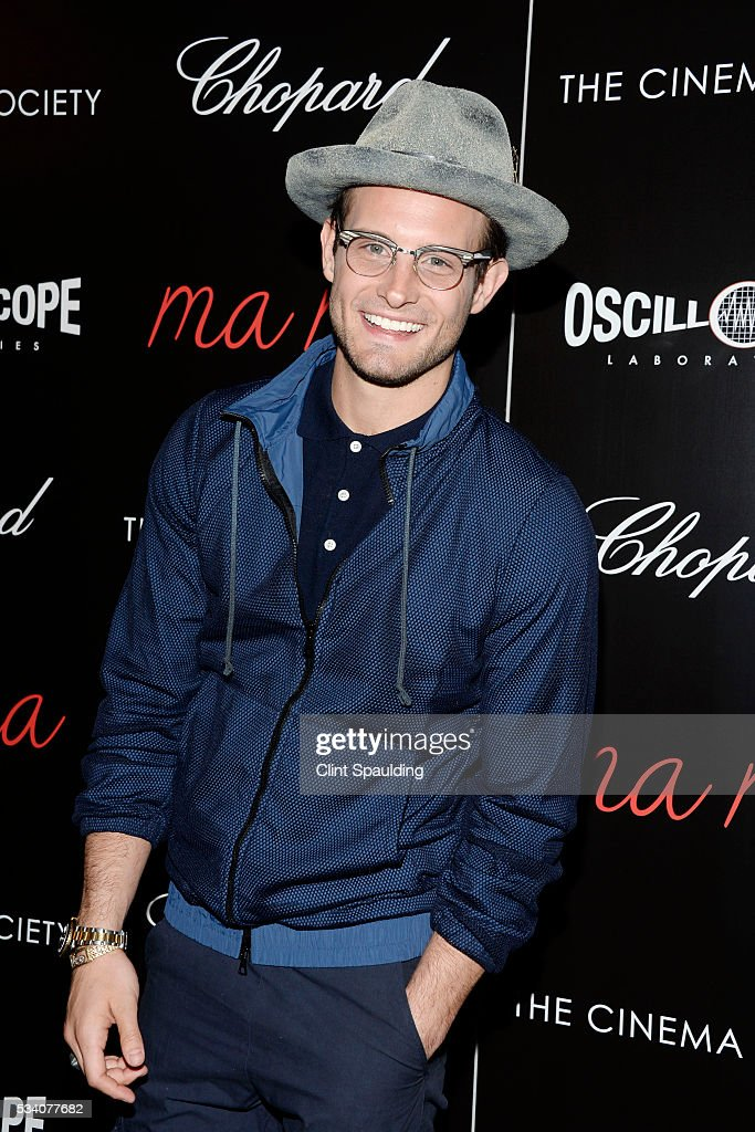 <a gi-track='captionPersonalityLinkClicked' href=/galleries/search?phrase=Nico+Tortorella&family=editorial&specificpeople=5864114 ng-click='$event.stopPropagation()'>Nico Tortorella</a> attends The Cinema Society and Chopard Host a Screening of Oscilloscope's 'ma ma' at Landmark Sunshine Theatre on May 24, 2016 in New York City.