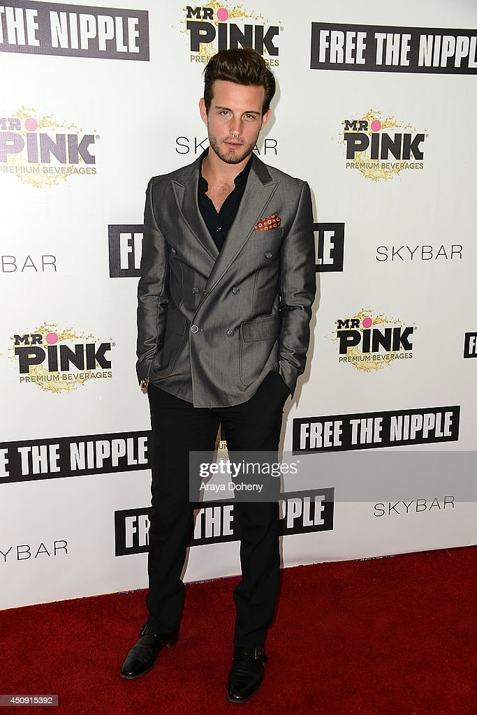 <a gi-track='captionPersonalityLinkClicked' href=/galleries/search?phrase=Nico+Tortorella&family=editorial&specificpeople=5864114 ng-click='$event.stopPropagation()'>Nico Tortorella</a> attends the 'Free The Nipple' fundraiser hosted by Russell Simmons at SkyBar at the Mondrian Los Angeles on June 19, 2014 in West Hollywood, California.