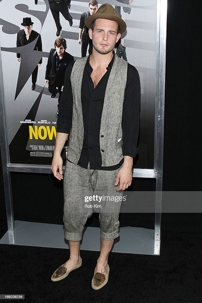<a gi-track='captionPersonalityLinkClicked' href=/galleries/search?phrase=Nico+Tortorella&family=editorial&specificpeople=5864114 ng-click='$event.stopPropagation()'>Nico Tortorella</a> attends the 'Now You See Me' New York Premiere at AMC Lincoln Square Theater on May 21, 2013 in New York City.