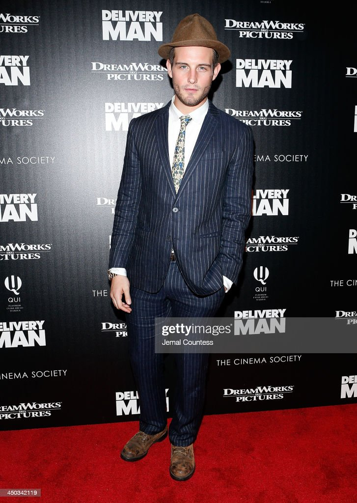 <a gi-track='captionPersonalityLinkClicked' href=/galleries/search?phrase=Nico+Tortorella&family=editorial&specificpeople=5864114 ng-click='$event.stopPropagation()'>Nico Tortorella</a> attends the screening of 'Delivery Man' hosted by DreamWorks Pictures and The Cinema Society at Paley Center For Media on November 17, 2013 in New York City.